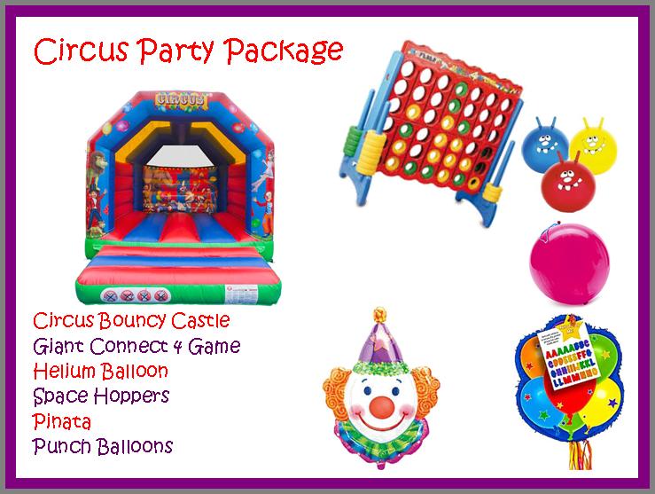 Circus Party Packagae