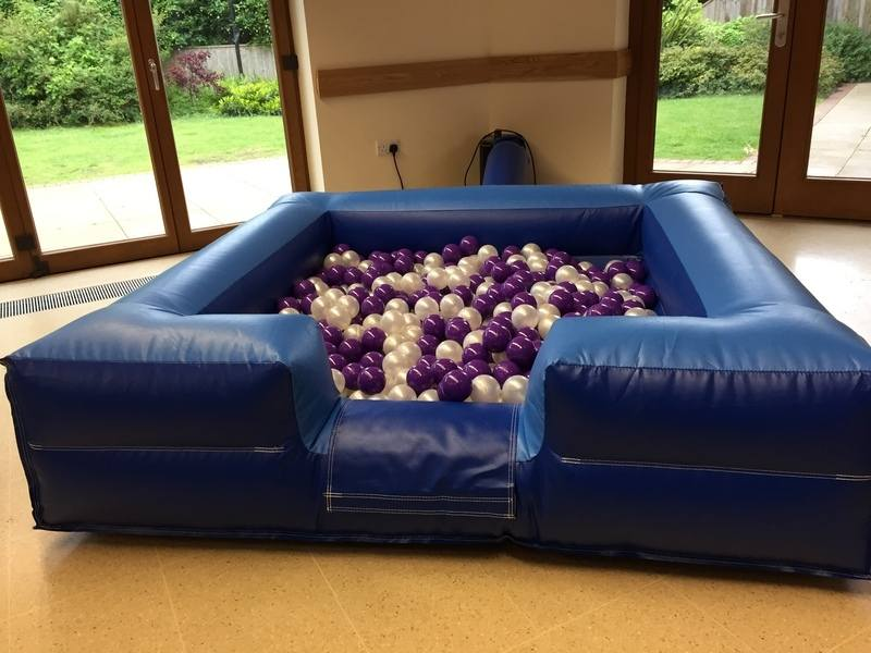6x6 Ball Pit Blue Front
