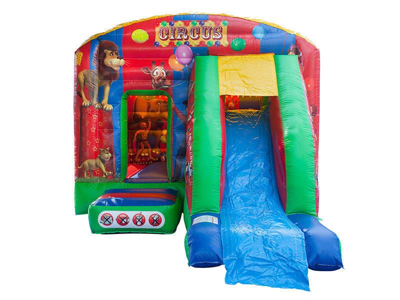 Circus Slide Castle - Front1