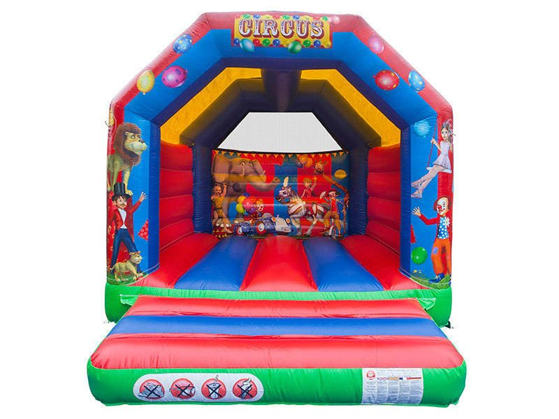 11x14 Circus Bouncy Castle Front