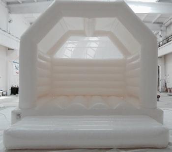 White Bouncy Castle A-Frame