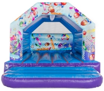 DLB Leisure - 12x15 Party Themed Bouncy Castle