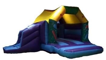DLB Leisure - 15x17 Balloon Side Slide Bouncy Castle