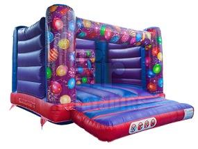 DLB Leisure - 13x13 Celebrations Bouncy Castle