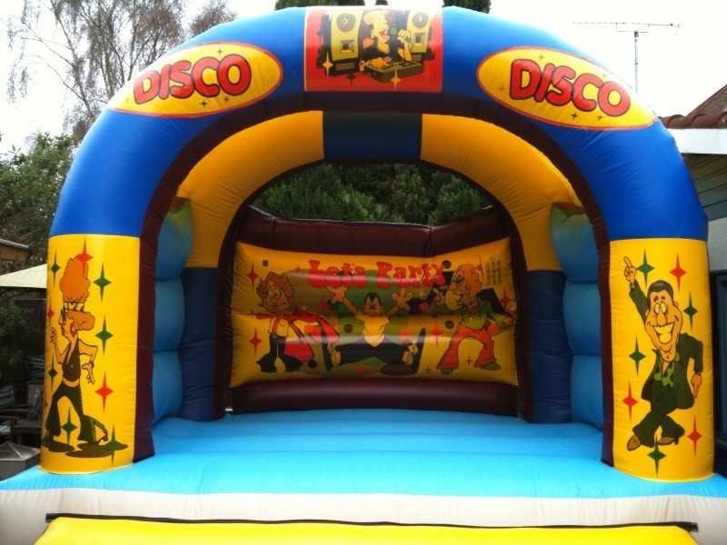 Adult Disco Castle - 15ft x 15ft