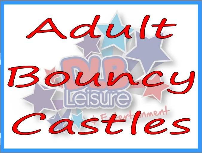 Adult Bouncy Castles