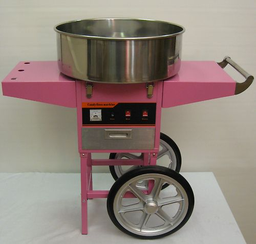 candyfloss machine cart
