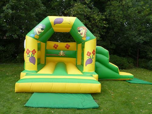 Jungle Fun Slide Castle Combi