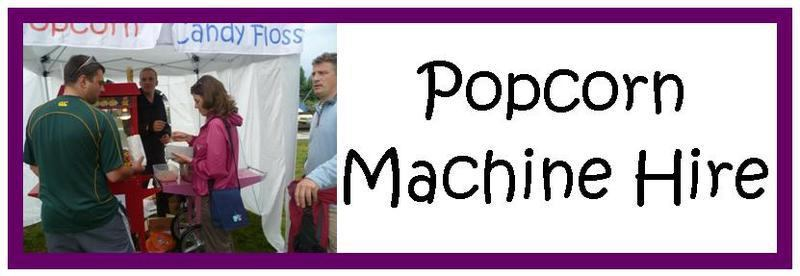 Popcorn Machine Hire New