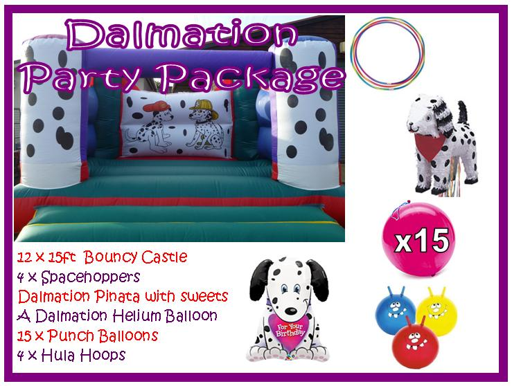 Dalmation Party Package