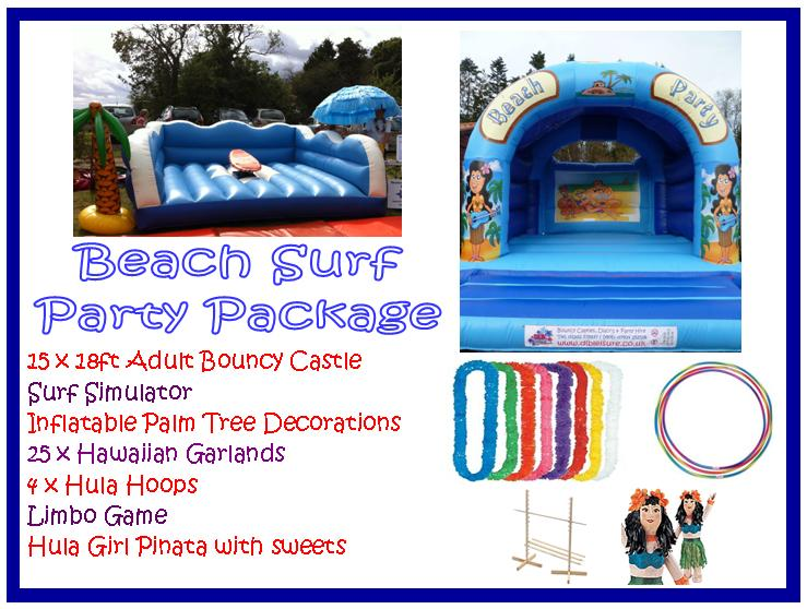 Beach Party Surf Package