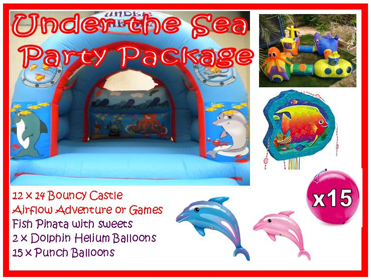 DLB Leisure - Under The Sea Party Package