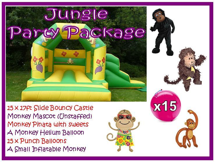 Monkey Jungle Package