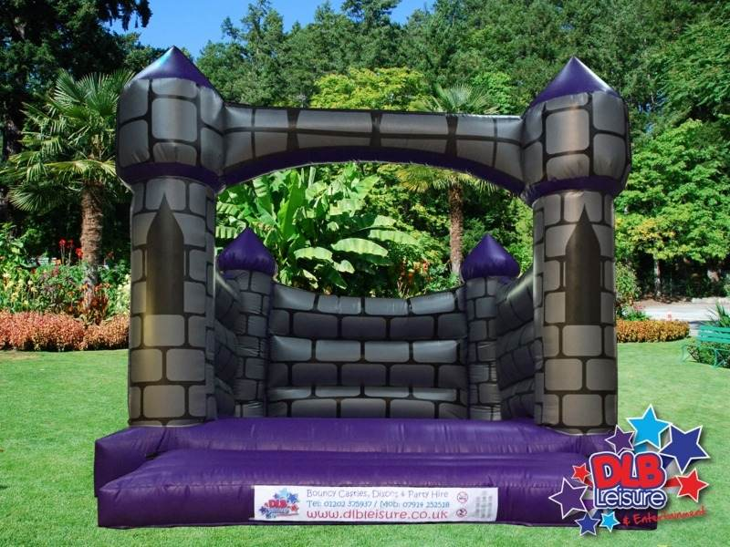 DLB Leisure - 15x18ft Purple Camelot Bouncy Castle