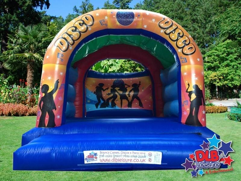 DLB Leisure - Disco Bouncy Castle 15x18ft