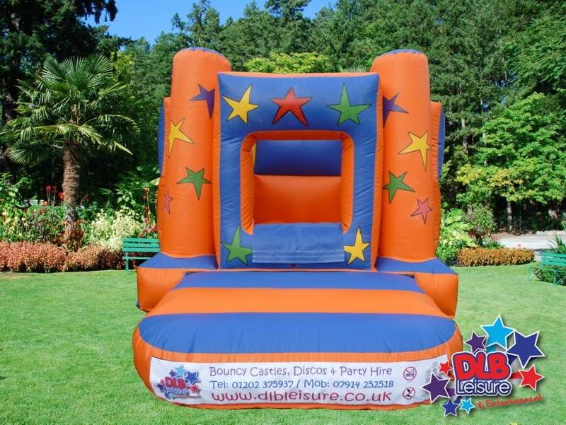 DLB Leisure - 8x11ft Starz Ball Pit Bouncy Castle