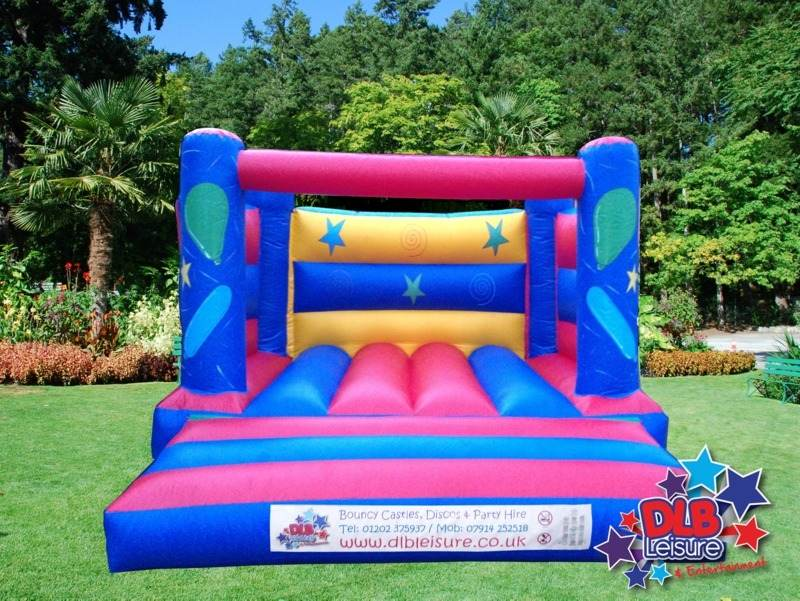 DLB Leisure - 12x12 Kids Blue Party Castle