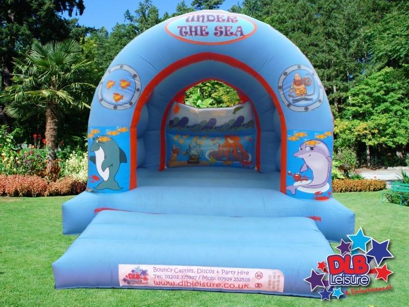 DLB Leisure - Kids 12x15ft Undersea Arch Bouncy Castle