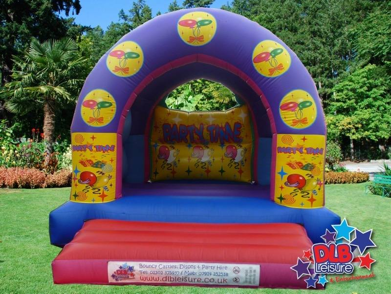 DLB Leisure - 12x15ft Partytime Bouncy Castle Roofed