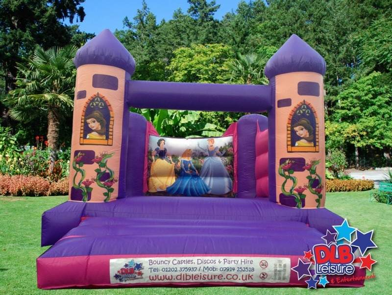 DLB Leisure - Princess Turret Castle 12x15ft