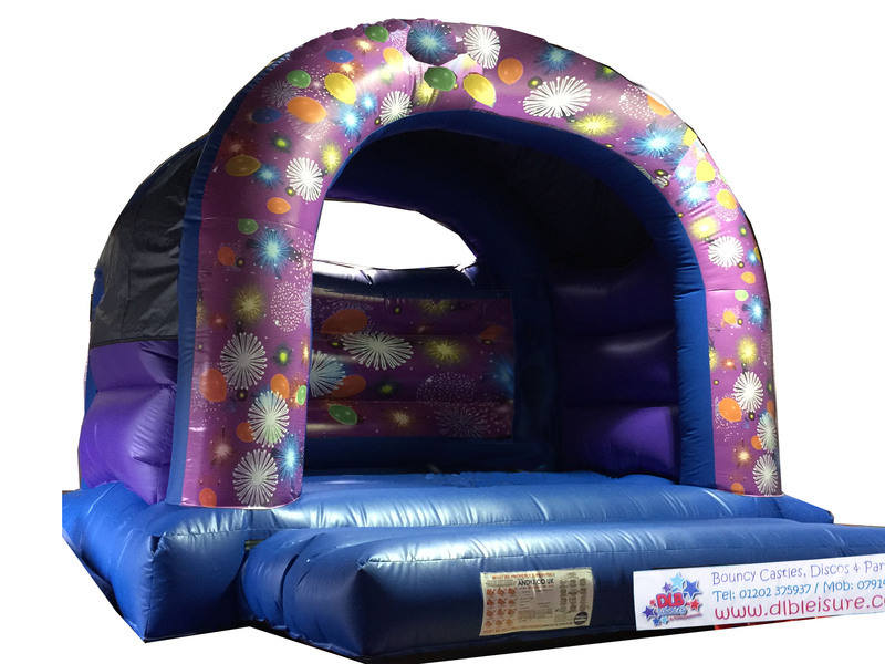 DLB Leisure - firework 15x15ft Adult castle