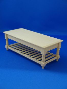 Slat Base Lg Table