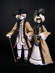 Venetian Carnival Couple small