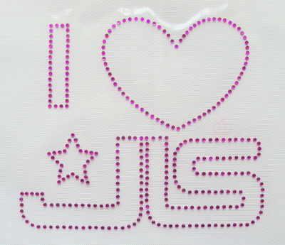 I love JLS - Pink