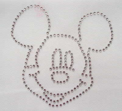 Mickey Mouse Head - Clear