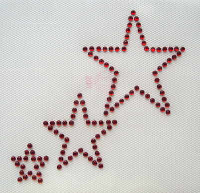 Triple / 3 Stars  -  Style A   -   Red