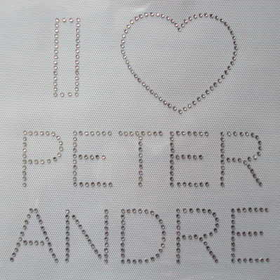 I Love Peter Andre - Clear