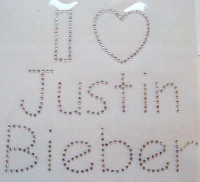 I Love Justin Bieber - Clear