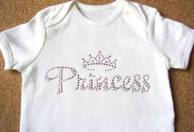 Princess (Pink) - Bodysuit/Vest/Gro