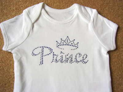 Prince (Blue) - Bodysuit/Vest/Gro