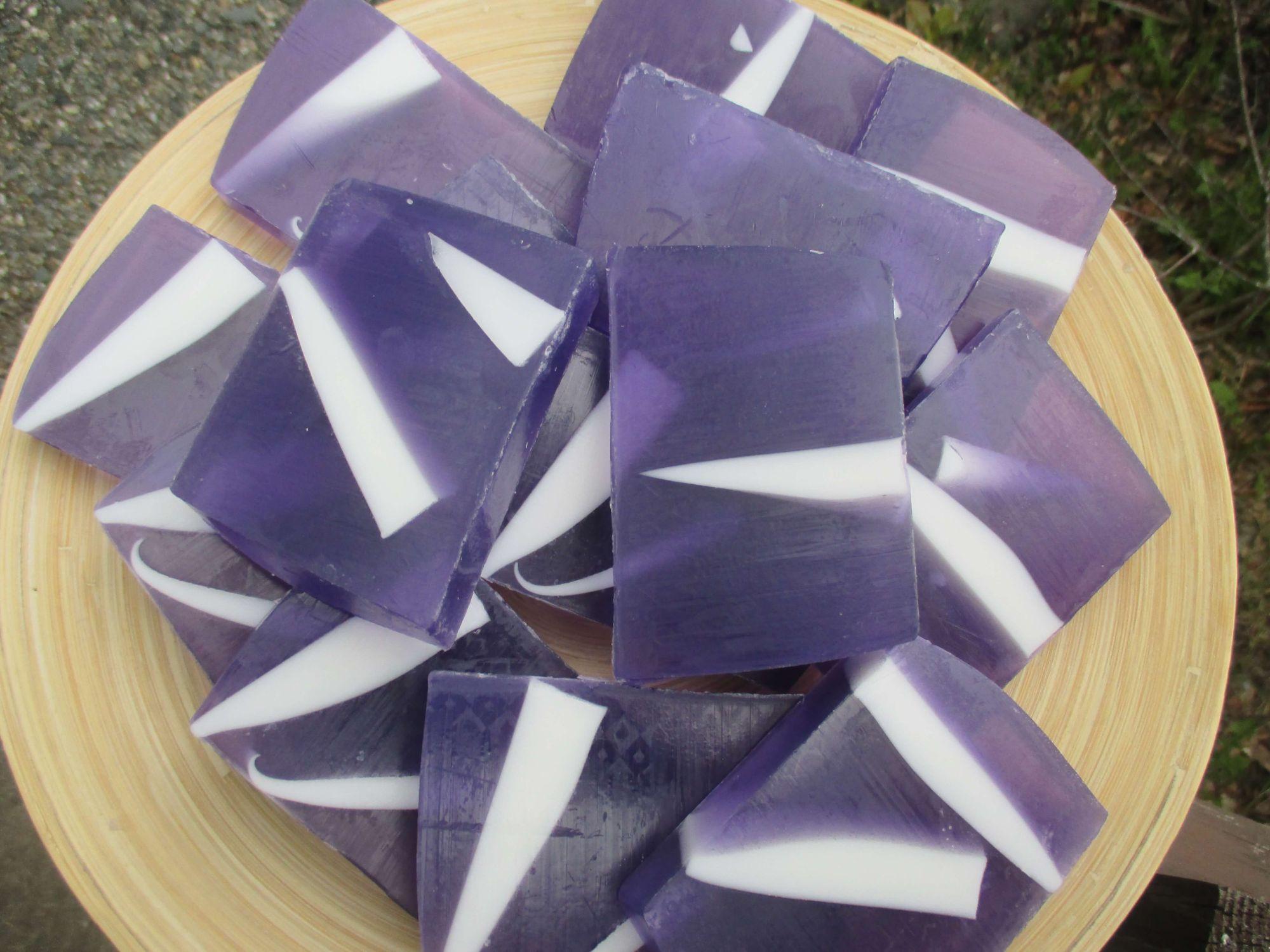 Lavendel såpe
