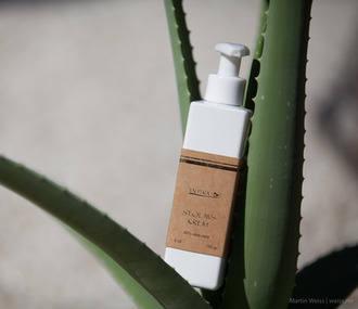 St. Olavs behandlingskrem (lotion) - 83% Økologisk - flaske