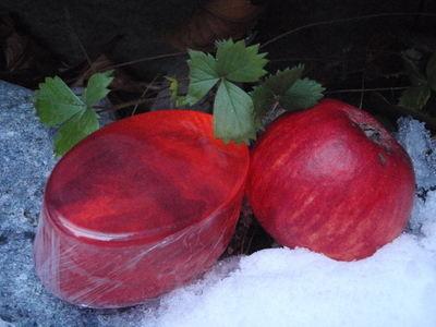 Jordbær-eple