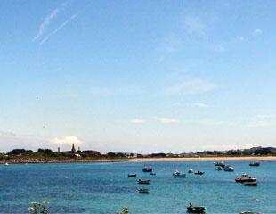 Lovely  Guernsey beach