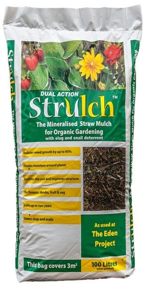 Strulch a really good lightweight mulch