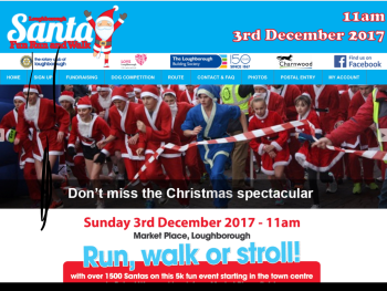 Santa Fun Run Walk 2017