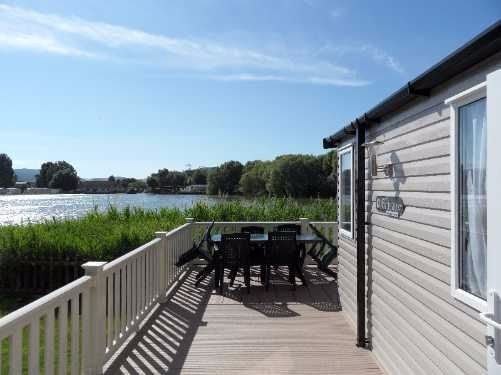 Bordeaux Caravan on the Lake Butlins Resort Minehead