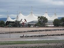 Butlins  from North Shore Minehead  Somerset TA24 5SH