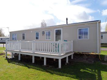 Butlins Minehead 10 berth 4 bedroom static caravan