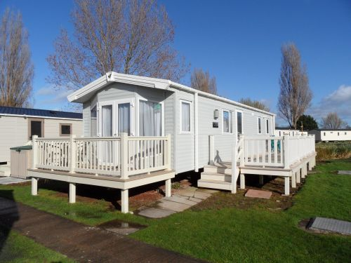 Luxury 3 bedroom caravan for hire Butlins Minehead