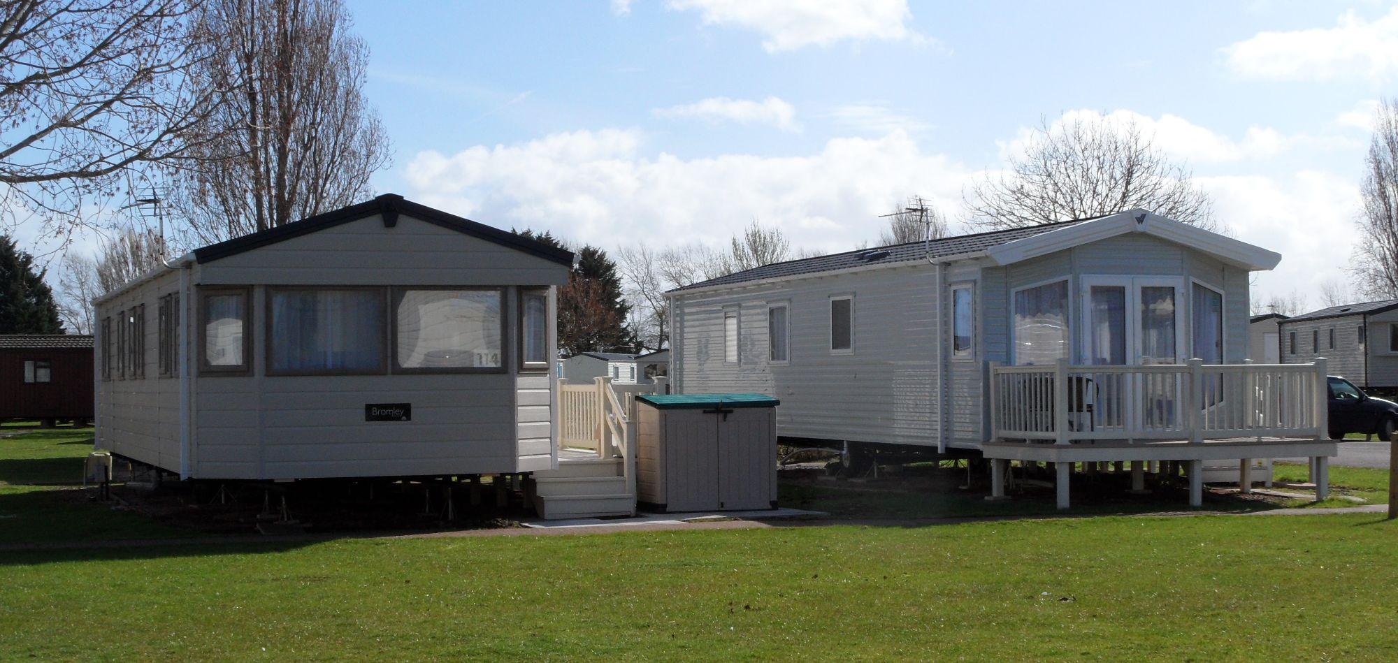 Butlins Minehead Caravans