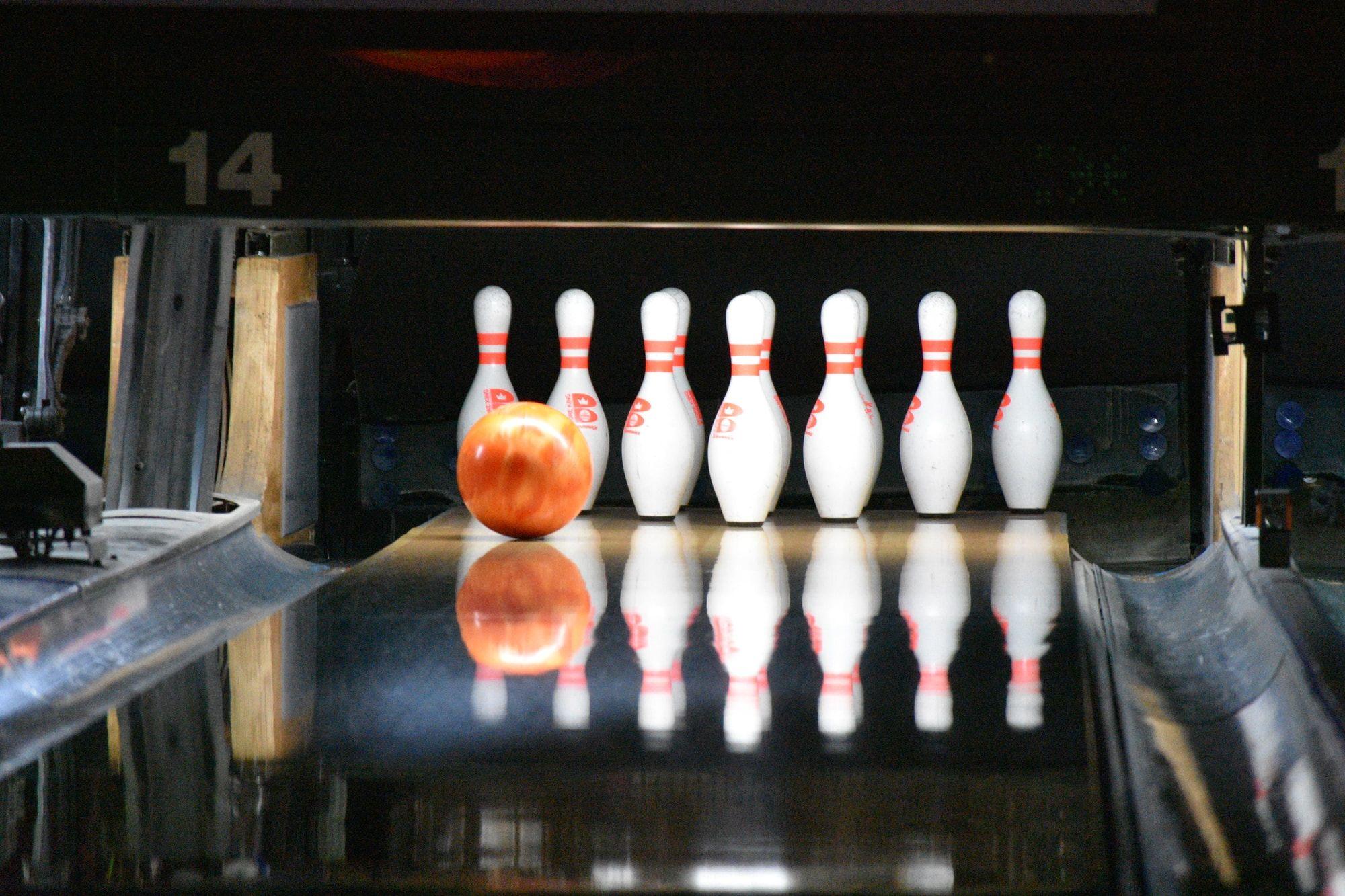 Butlins Minehead Ten pin bowling