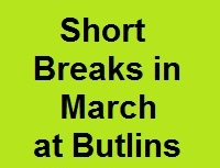 <!--001-->Offers in March Butlins Minehead