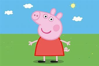 peppa pig at Butlins