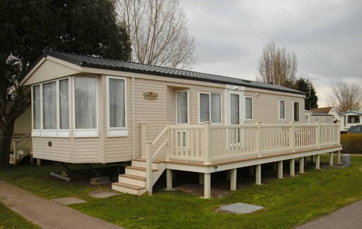 solitaire caravan at Butlins Minehead