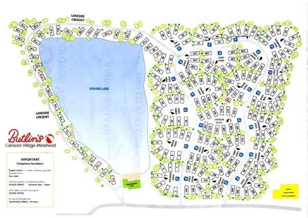 Butlins Minehead Lakeside Caravan Park